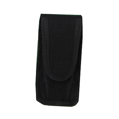 Uncle Mikes Cordura Universal Single Pistol Mag/Folding Knife Case Black