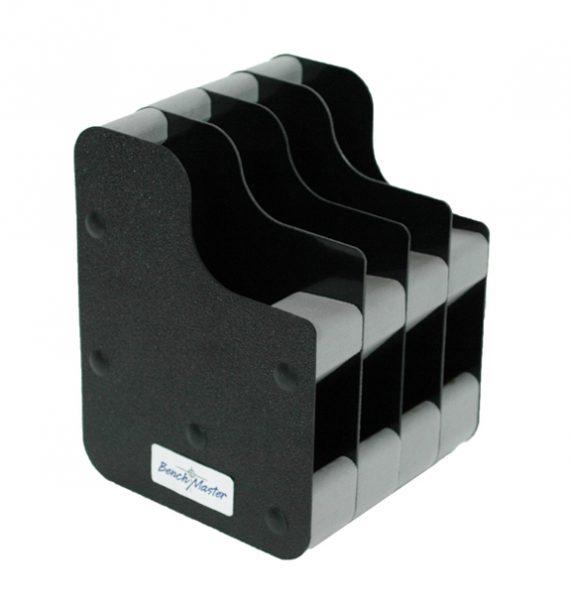 Benchmaster - 4 Gun Concealed Carry Vertical Pistol Rack