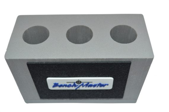 "Benchmaster - Weapon Rack - Suppressor Storage - 3 Units - 1"" DIA"
