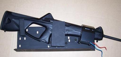 Big Sky Racks Law Enforcement Rack Model : ELS 271-CX4