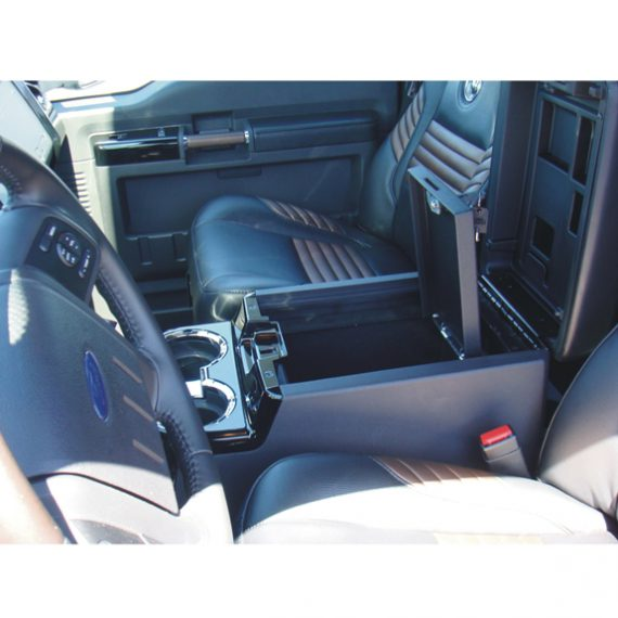 Console Vault Ford F250 Super Duty Floor Console: 2008 - 2010