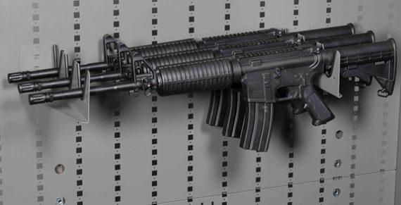 Datum Storage Argos WS-6104 - 3 Rifle Horizontal Rack for Cabinets and Racks