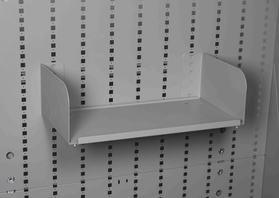 """Datum Storage Argos WS-6421 - 21"""" Movable Half Shelf for Cabinets and Racks"""