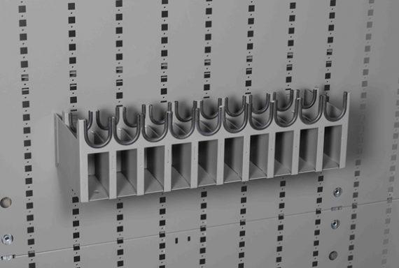 Datum Storage Argos WS-6810 - 10 Pistol Cradle for Cabinets and Racks