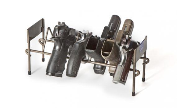 Rack'em 6007 - 7 Pistol Stack-able Rack
