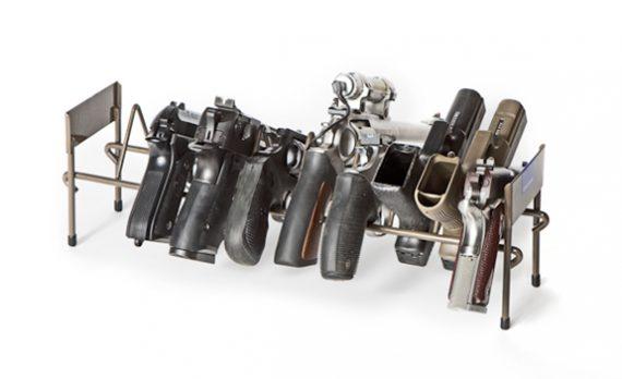 Rack'em 6010 - 10 Pistol Stack-able Rack