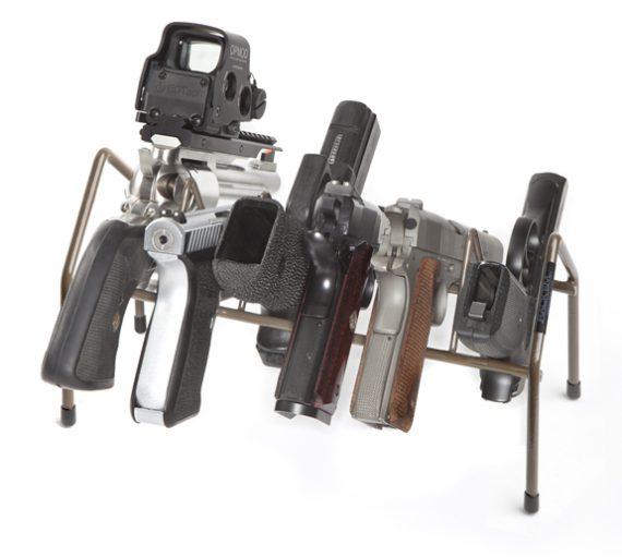 Rack'em - 6016 - Universal - 6 Pistol Economy Rack
