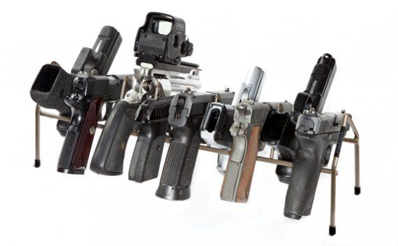 Rack'em - 6019 - Universal - 9 Pistol Economy Rack