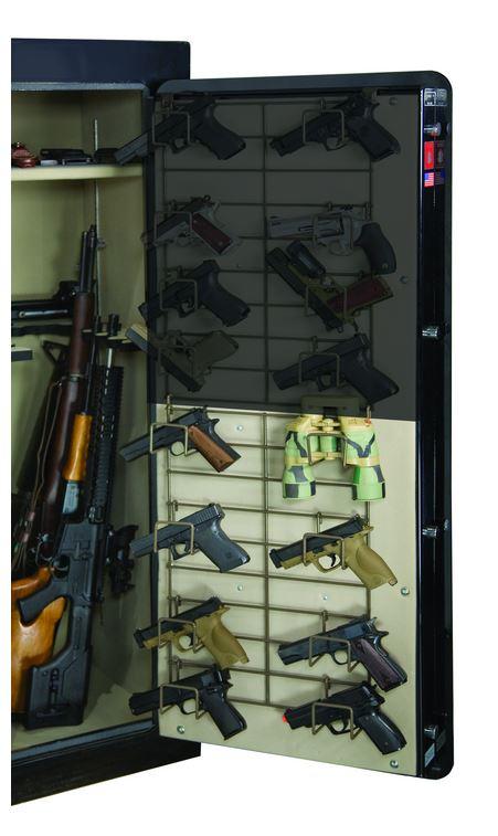 Rack'em 6032 Half Door Bottom Mount - 8 Pistol Rack