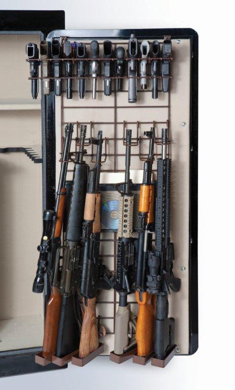 Rack'em 6039 Maximizer - Full Door - 6 Rifles/22 Pistols (Add-On Rack is Brown)