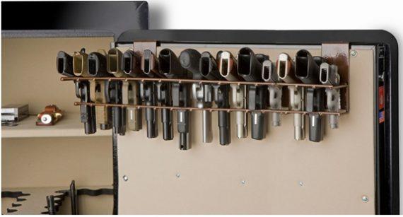 Rack'em 6050 The Holster - 15 Pistol Rack