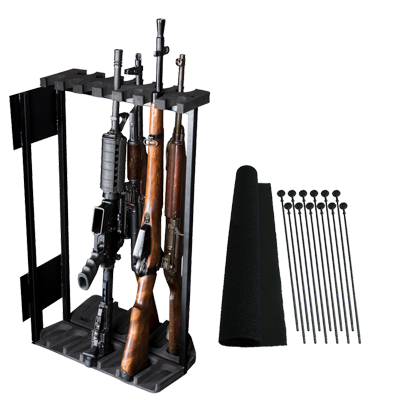 """Rhino Swing Out Rack 13 Gun Fits Safes 36""""W or Wider"""