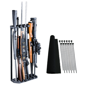 """Rhino Swing Out Rack 6 Gun Fits Safes 28""""W or Wider"""