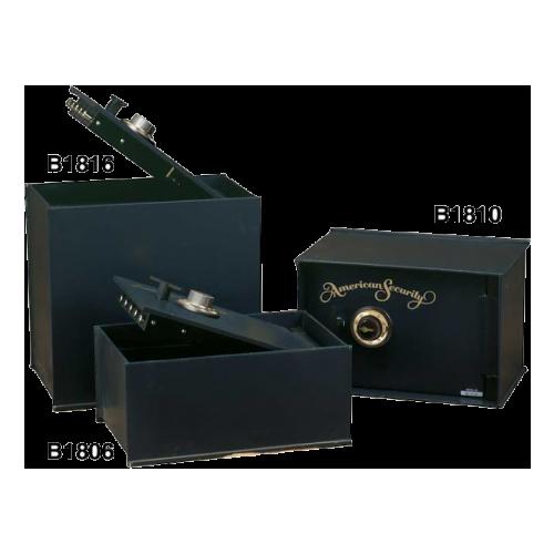 American Security B1806 - Rectangular Hinged Door Floor Safe