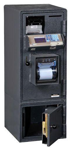 American Security BR3112 CashWizard Safe - 1 Bill Reader - 2 Door Smart Safe