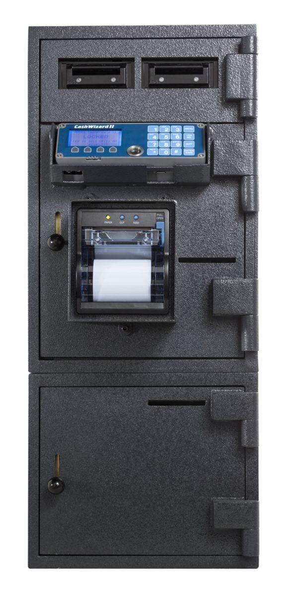 American Security BR3113 CashWizard Safe - 2 Bill Reader - 2 Door Smart Safe