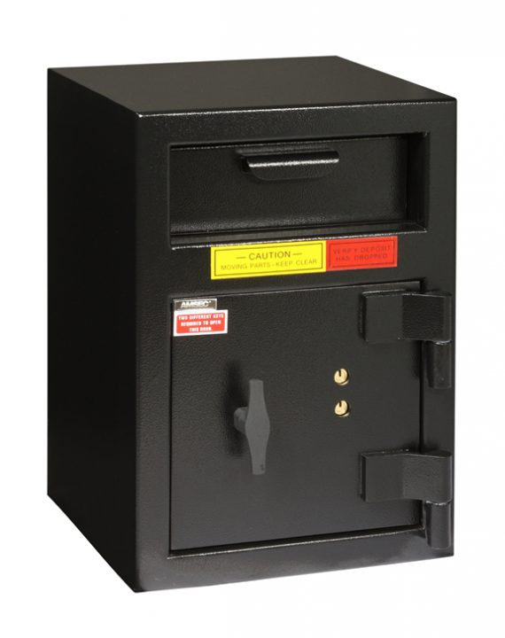 """American Security DSF2014K - """"B"""" Rated Rotary Front Load Key Depository Safe"""