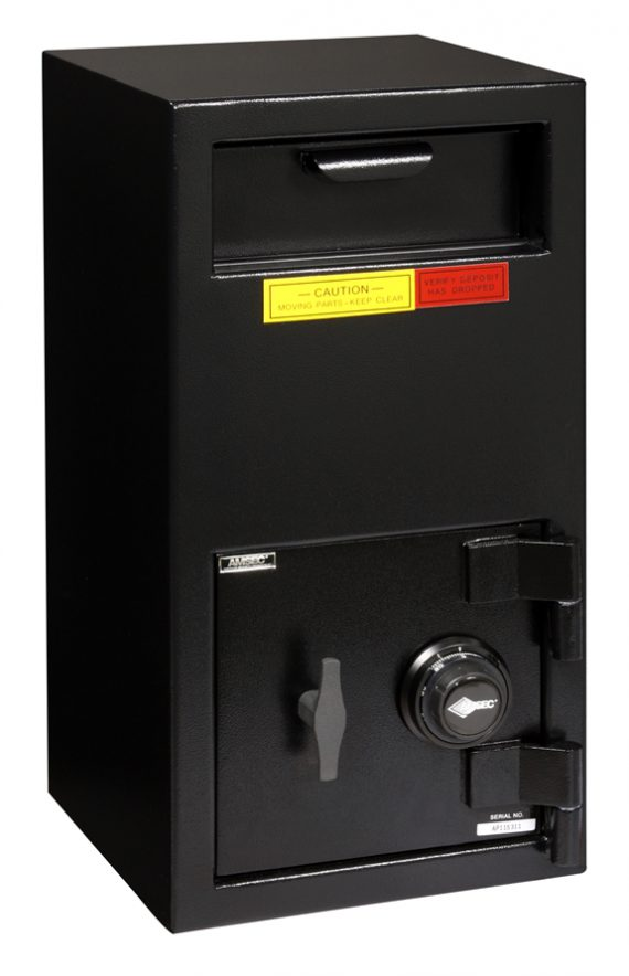 """American Security DSF2714C - """"B"""" Rated Front Load Depository Drop Safe With Combination Entry"""