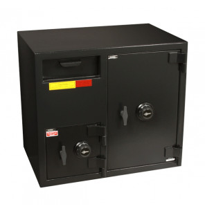 """American Security DSF2731CC - """"B"""" Rated Front Load Depository Drop Safe With Combination Entry Depository and Large Side Safe"""