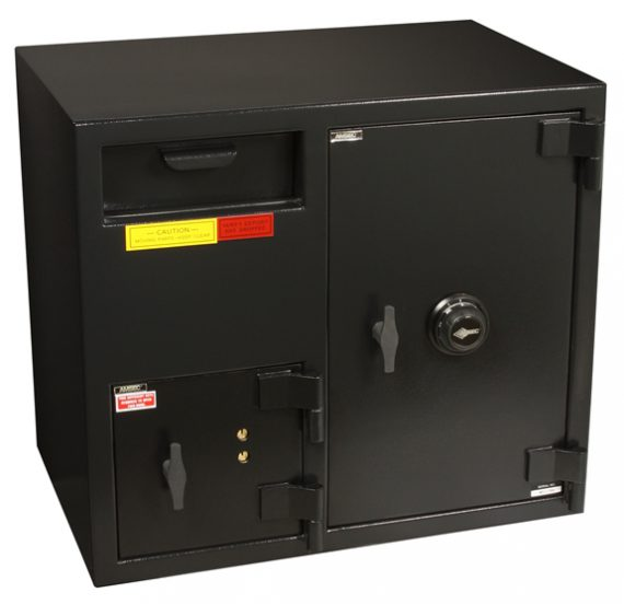 """American Security DSF2731KC - """"B"""" Rated Front Load Depository Drop Safe With Dual Key Entry Depository and Large Combination Side Safe"""