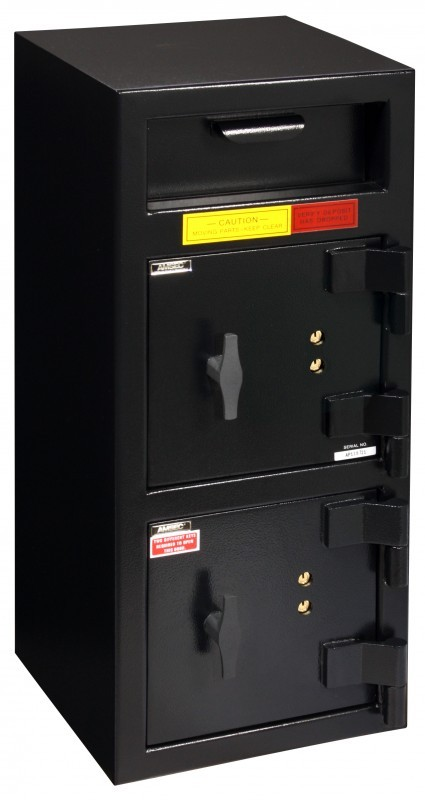 """American Security DSF3214KK - """"B"""" Rated Front Load Depository Drop Safe With Dual Key Entry Doors"""