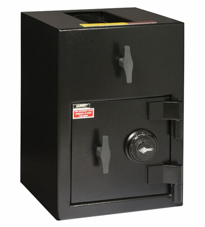 """American Security DST2014C - """"B"""" Rated Rotary Top Load Combination Depository Safe"""