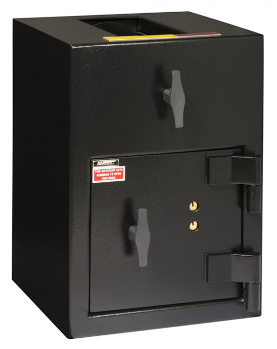"""American Security DST2014K - """"B"""" Rated Rotary Top Load Key Depository Safe"""