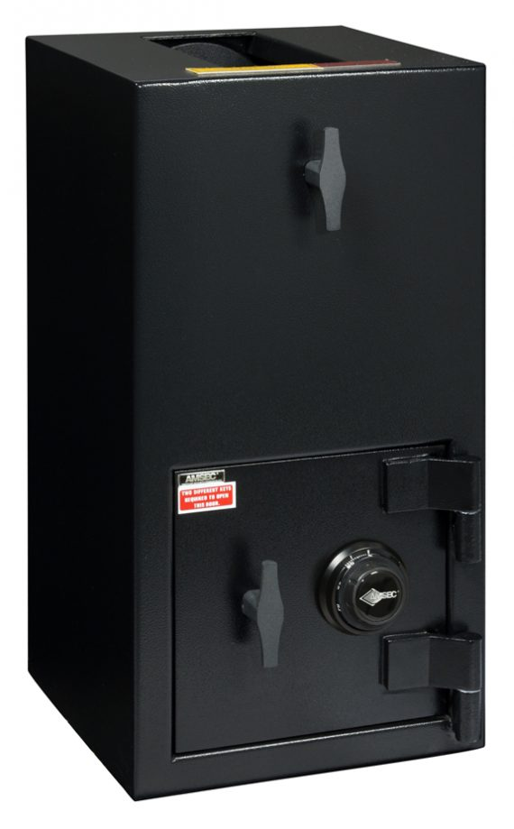 """American Security DST2714C - """"B"""" Rated Rotary Hopper Drop Safe With Combination Entry"""