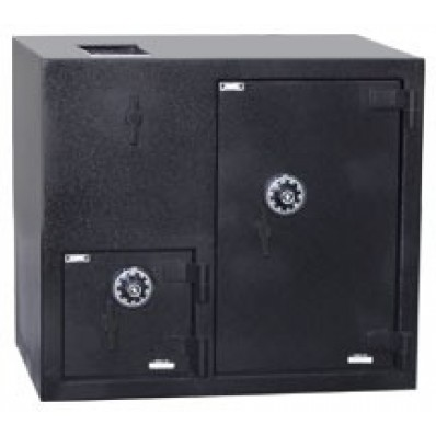 """American Security DST2731CC - """"B"""" Rated Top Load Rotary Depository Drop Safe With Combination Entry Depository and Large Side Safe"""