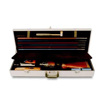 """Americase 1024 Premium Two Barrel Skeet Tube Set Extra Storage, 32"""" bbl Shotgun Case"""