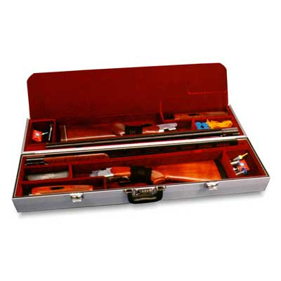 Americase 2012 Premium Two Trap Guns Extra High Rib Citori + Shotgun Case