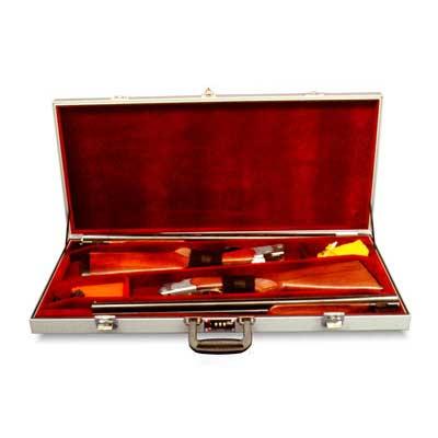 "Americase 3011 Premium Presentation Two Classics, FE on, 30"" bbl Shotgun Case"