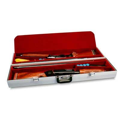 Americase 3025 Premium Velvet Two Autos or Pumps Single Barrel Shotgun Case