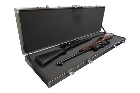 Americase AT-EC-5216L Aluma-Trans Two Scoped Rifles or Shotguns