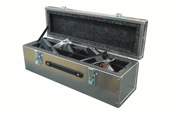 Americase UL-511 Ultra Lite Four Pistol Case