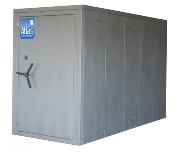 "Atlas Safe Rooms - Alternate Series - 15 Person Safe Room - 4' 5"" by 10' 5"""