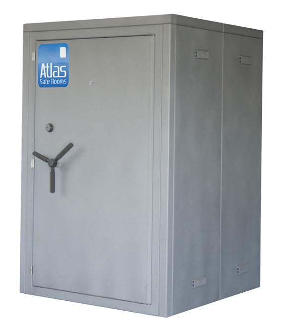 "Atlas Safe Rooms - Guardian Series - 6 Person Safe Room - 4' 5"" by 4' 5"""