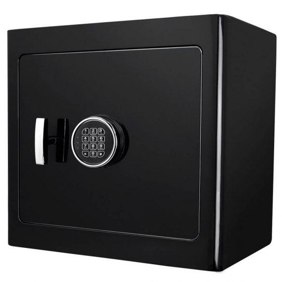 Barska AX13036 Black Jewelry Safe - Light Interior