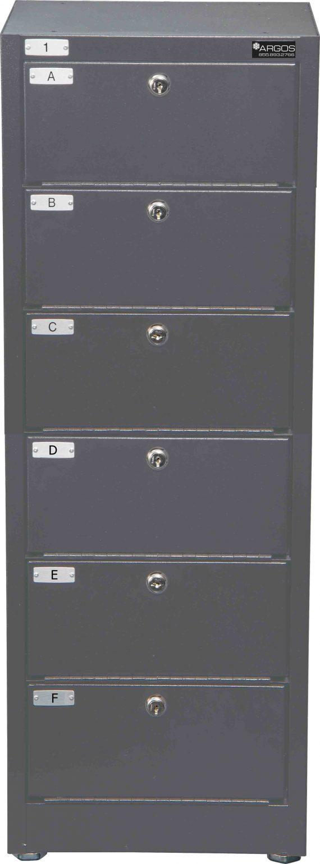 Datum Storage Argos WMC-6-331208 - 6 Tier Pistol Locker
