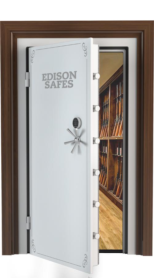 "Edison Safes - 80"" x 45"" Vault Door - 30-60 Minute Fire Rating"