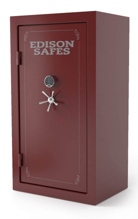 Edison Safes E7240 Elias Series 30-120 Minute Fire Rating - 64 Gun Safe