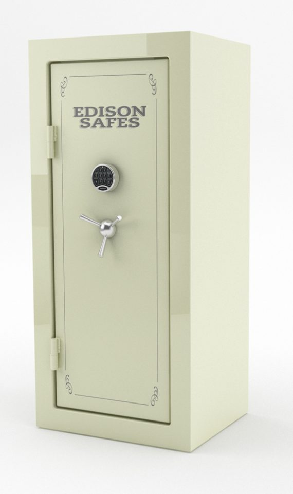 Edison Safes F6630 Foraker Series 30-120 Minute Fire Rating - 33 Gun Safe