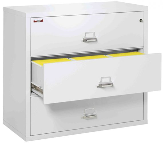Fire King 3-4422-C - Lateral Fireproof File Cabinets - 3 Drawer 1 Hour Fire Rating