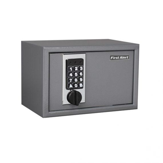 First Alert 2025F Anti-Theft Shelf Safe - .28 Cubic Ft