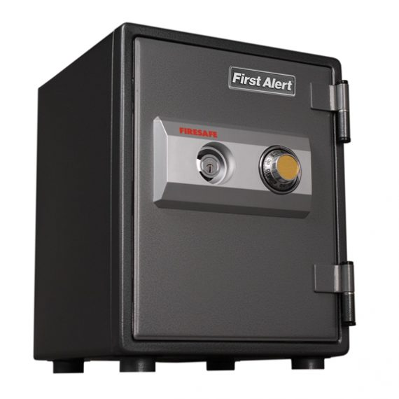 First Alert 2054F Safe 1 Hour Steel Fire Safe with Combination Lock - 0.80 Cubic Ft