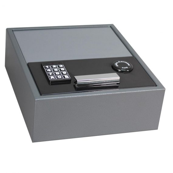 First Alert 2074F Top-Opening Anti-Theft Drawer Safe - .35 Cubic Ft