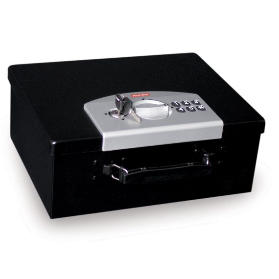 First Alert 3035DF Steel Security Safe w/ Keypad Lock