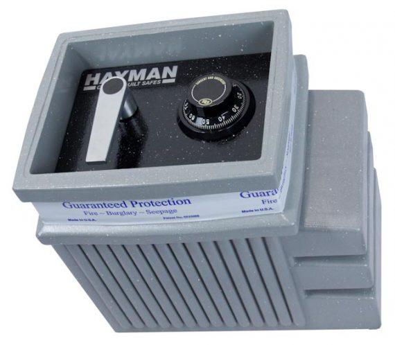 Hayman Small Polyethylene floor safe S1200