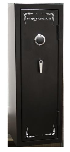 Homak Security - BH50126080 - 8 Gun Black Hills Safe - 1400°/30 Minutes