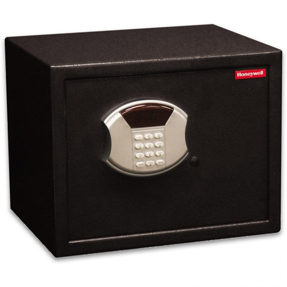 Honeywell 5103 Safe Medium Steel Security Safe / .83 cu. ft. Capacity - Black